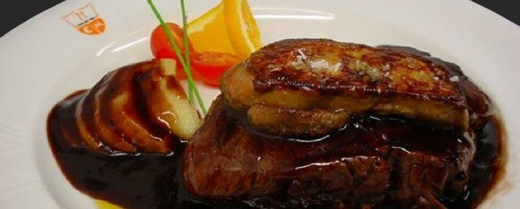 Veal Sirloin with 'Foie'